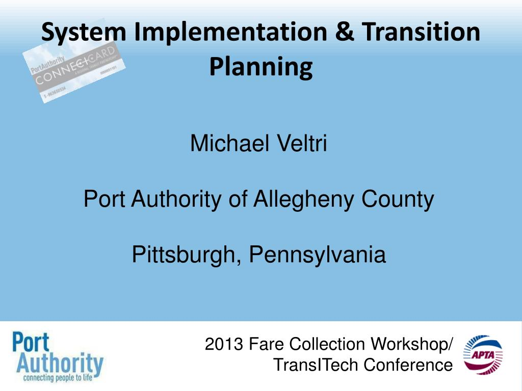 Ppt System Implementation Transition Planning Powerpoint