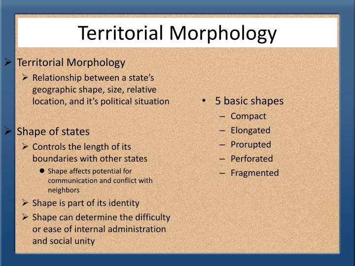 Ppt Territorial Morphology Powerpoint Presentation Id5766752