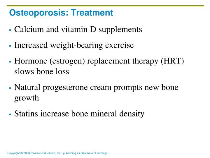 Osteoporosis: Treatment