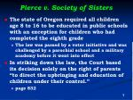 pierce v society of sisters