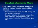 standard of review in moore1