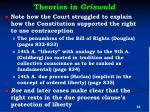 theories in griswold