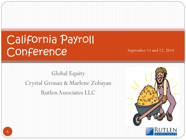 California payroll conference