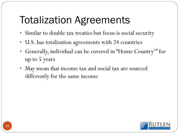 Totalization Agreements