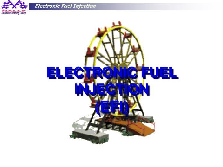 electronic fuel injection efi n.