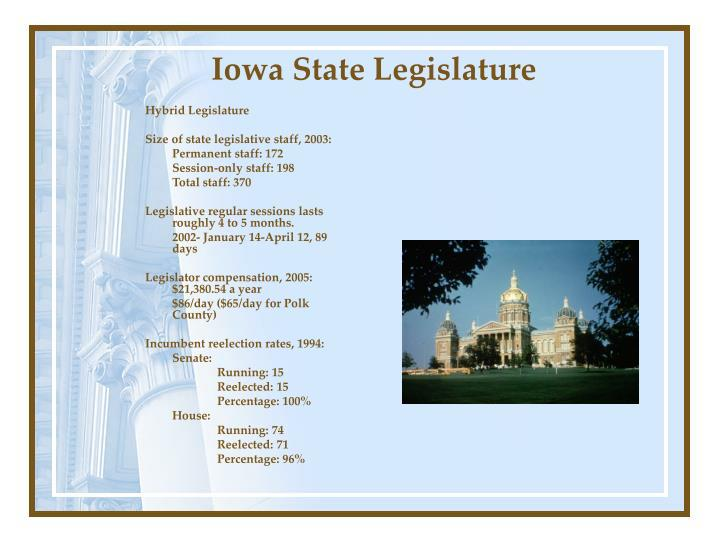 Iowa State Legislature