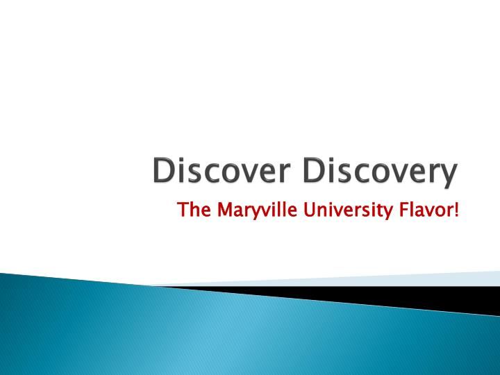 discover discovery n.