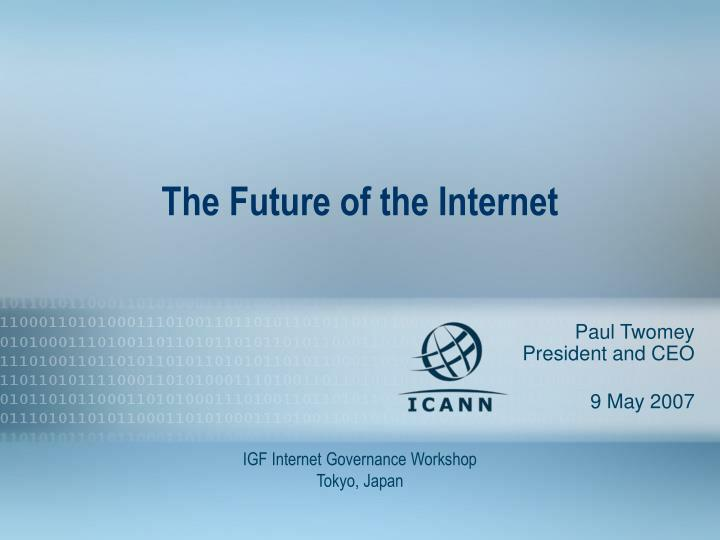 the future of the internet n.