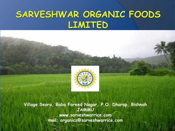 thesis statement organic food Our thesis is that a majority of our food miles could be chopped off if we prepare more of our food local and organic local organic food and farming are the gold.