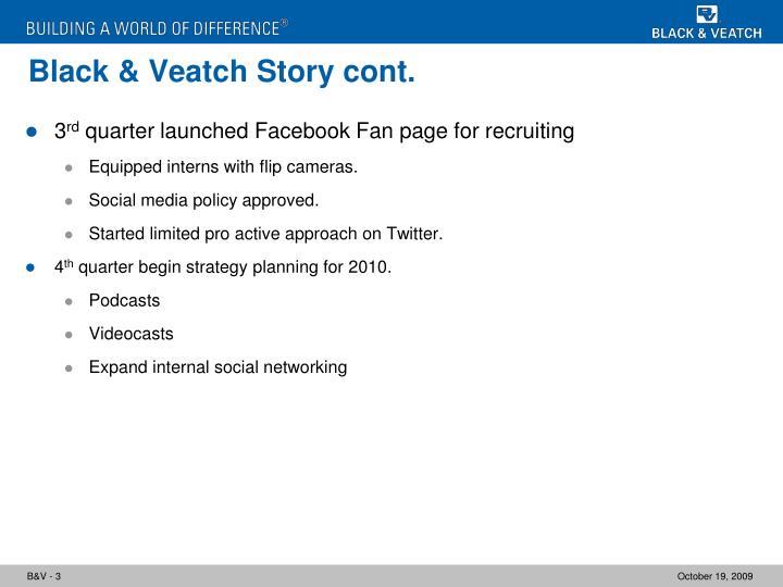 Black veatch story cont