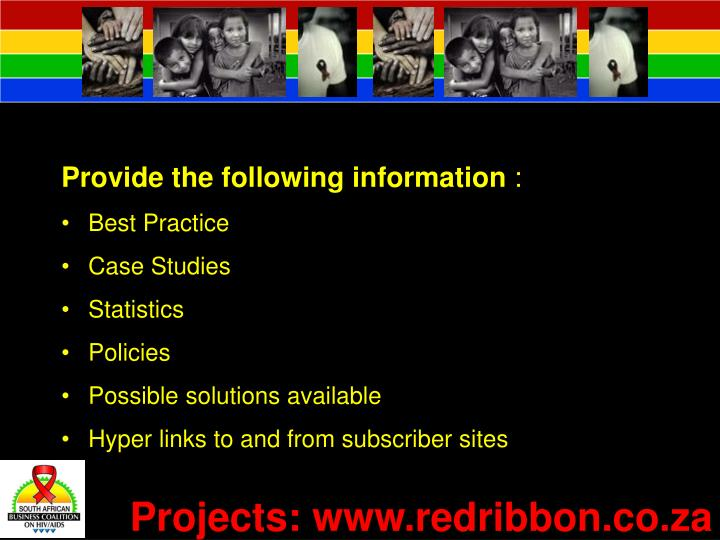 Provide the following information
