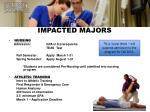 impacted majors