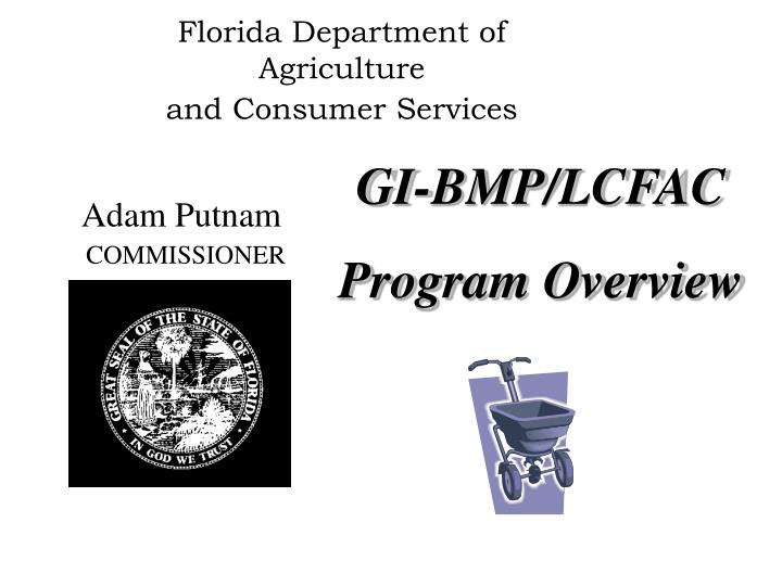 florida department of agriculture and consumer services n.