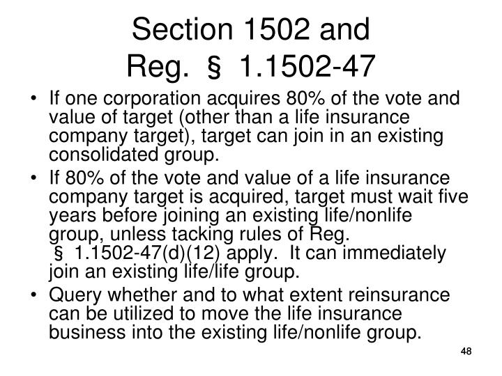 Section 1502 and