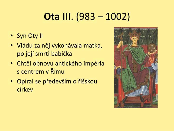 Ota III