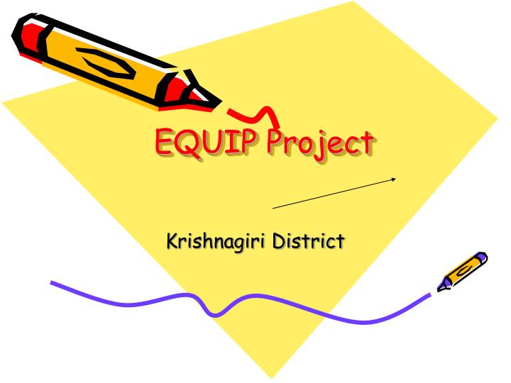 equip project n.