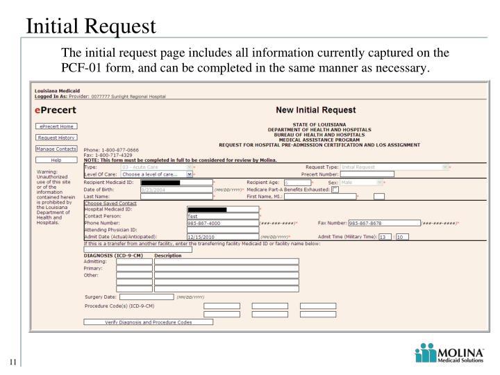 Initial Request