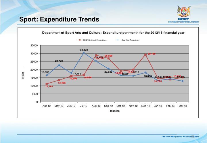 Sport: Expenditure Trends