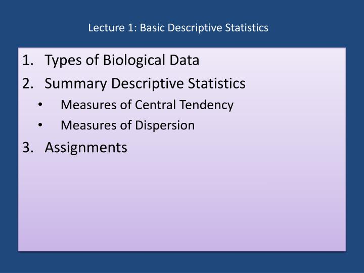 five descriptive statistics used to describe basic properties of variables Descriptive statistics - summary tables ncsscom example 1 - basic variable summary report (no group variables) the data used in this example are in the resale dataset you may follow along here by making the appropriate entries or load the completed template example 1a by clicking on.