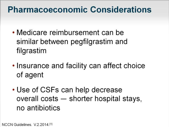 Pharmacoeconomic Considerations