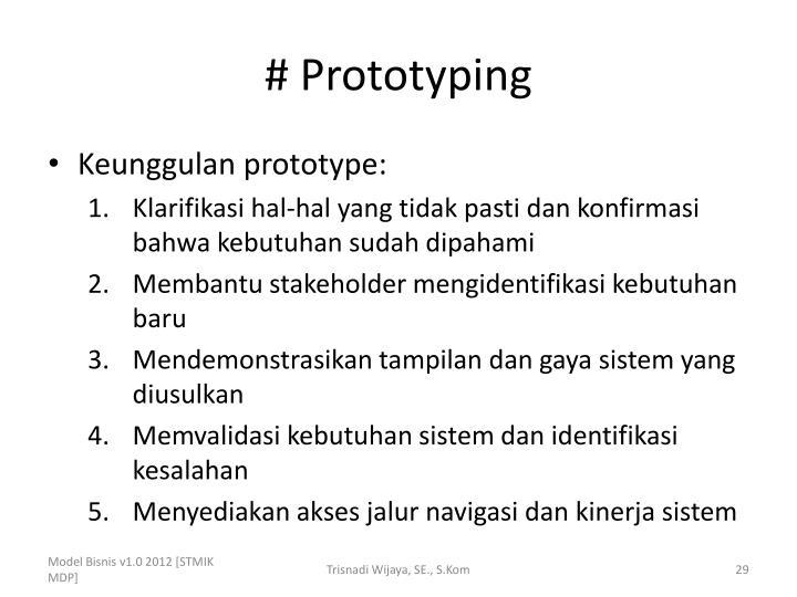 # Prototyping