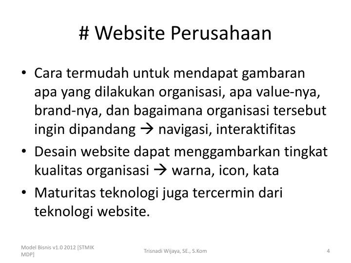 # Website Perusahaan