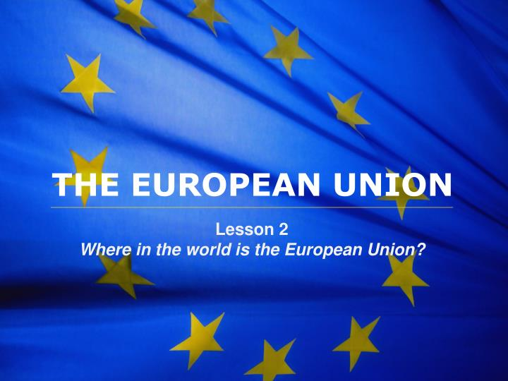 the impact of membership of the european union essay