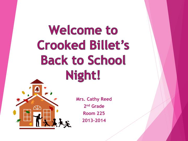welcome to crooked billet s back to school night n.