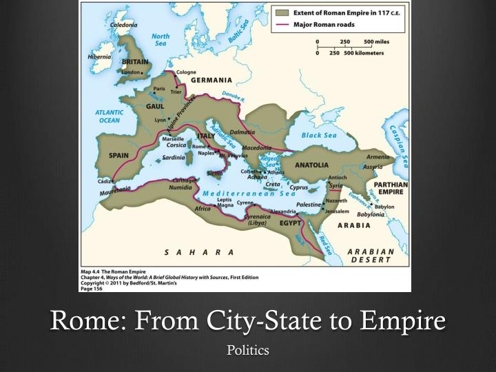 rome from city state to empire n.