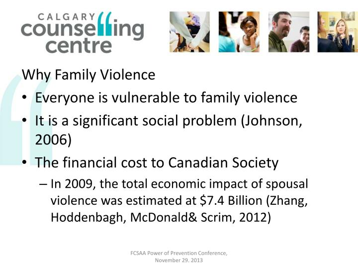 Why Family Violence