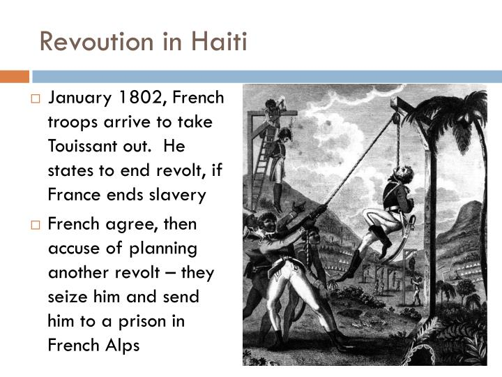 Revoution in Haiti