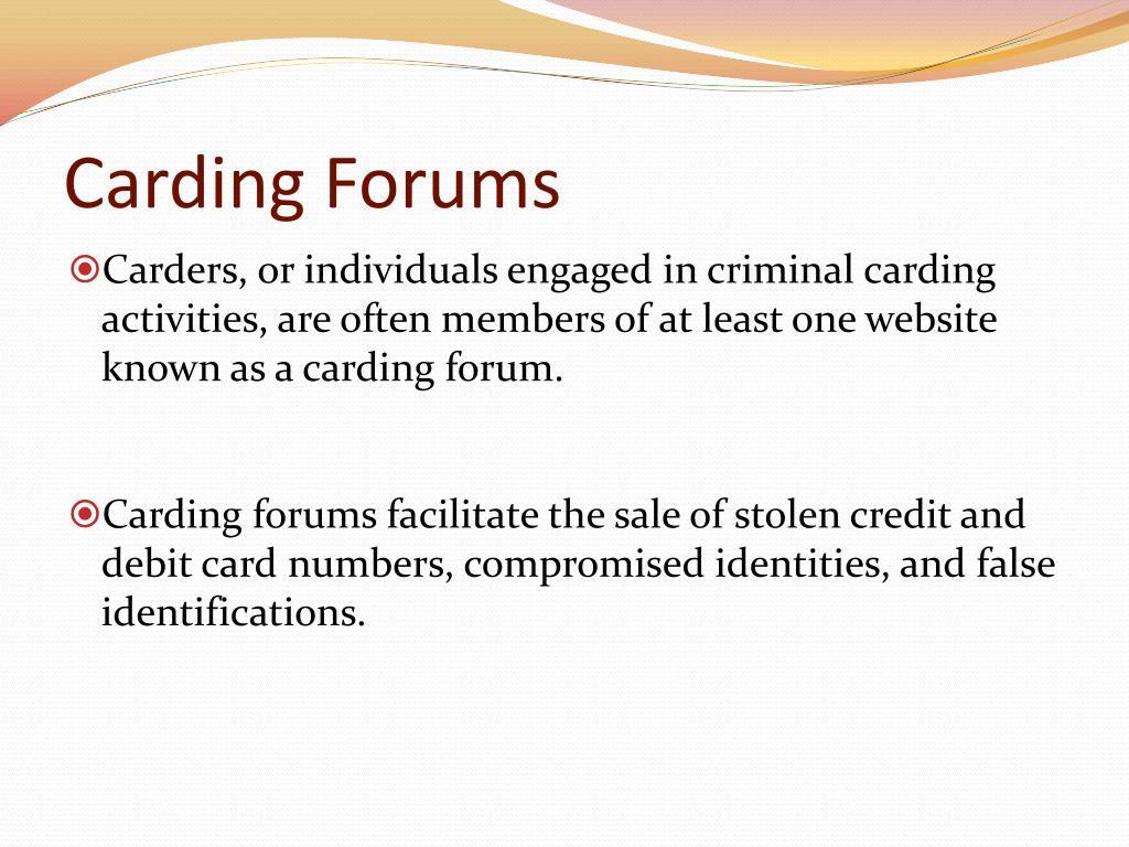 Carding Forum