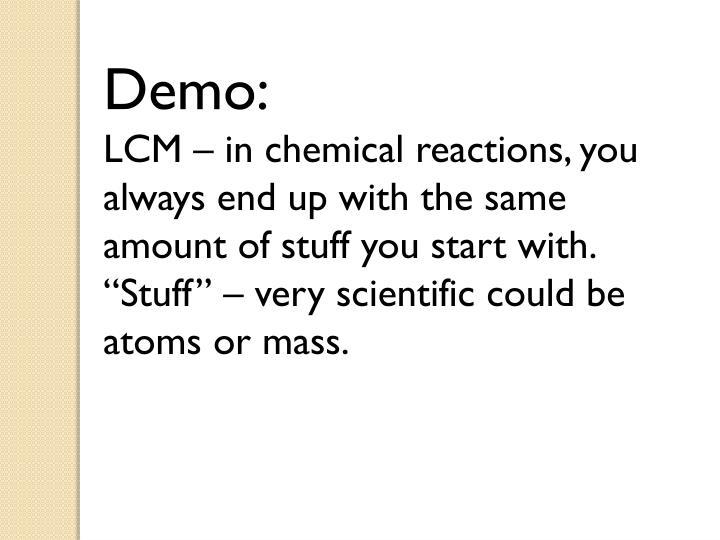 Demo: