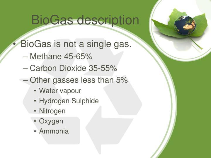 BioGas description