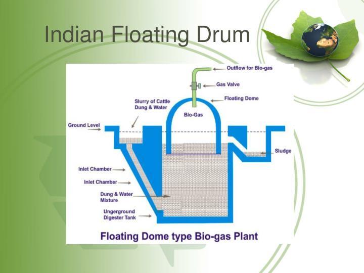 Indian Floating Drum