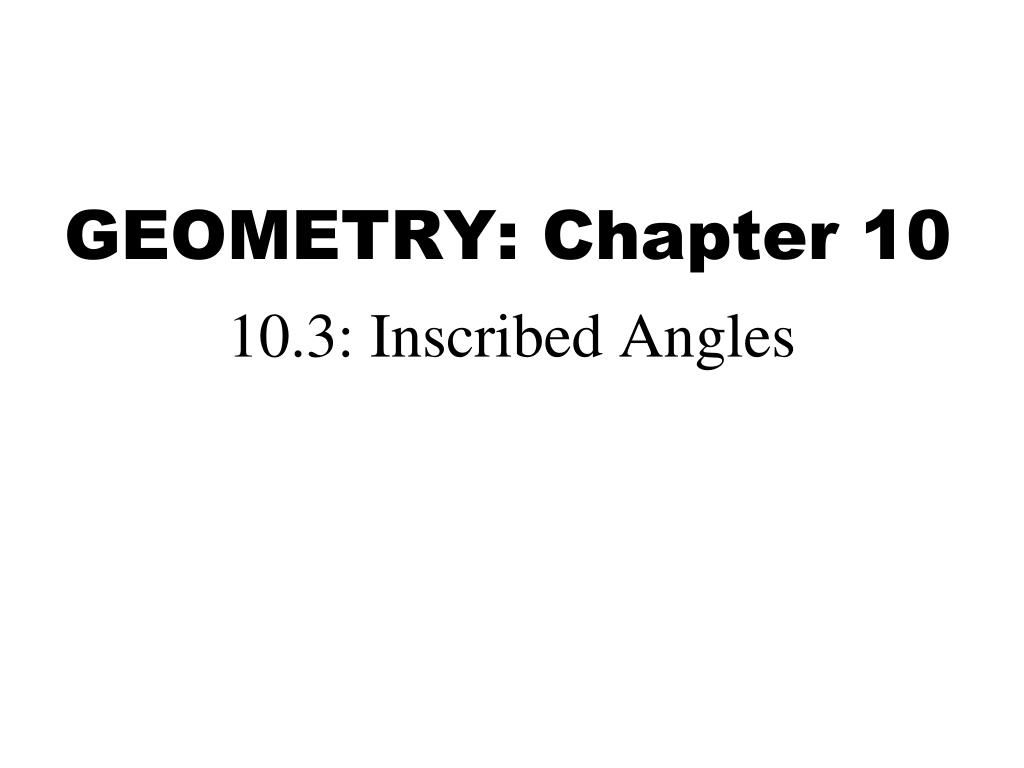ppt geometry chapter 10 powerpoint presentation id 5769760
