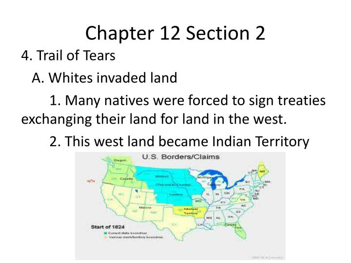 Chapter 12 Section 2