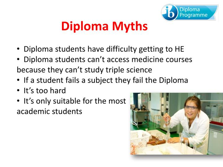 Diploma students have difficulty getting to HE