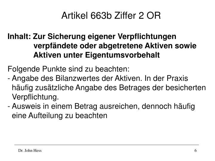 Artikel 663b Ziffer 2 OR