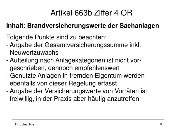 Artikel 663b Ziffer 4 OR