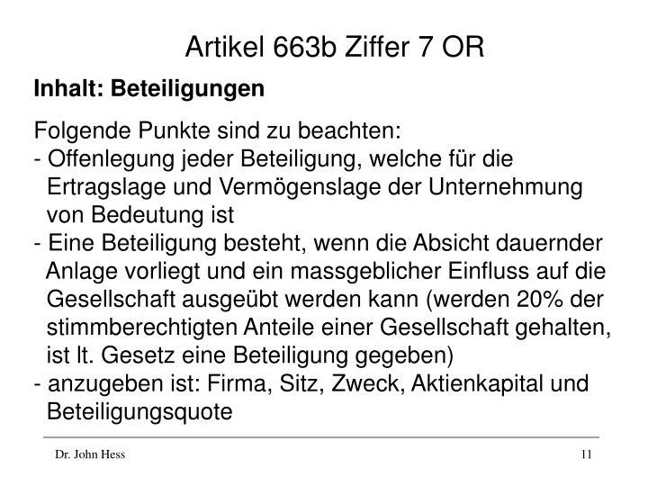 Artikel 663b Ziffer 7 OR
