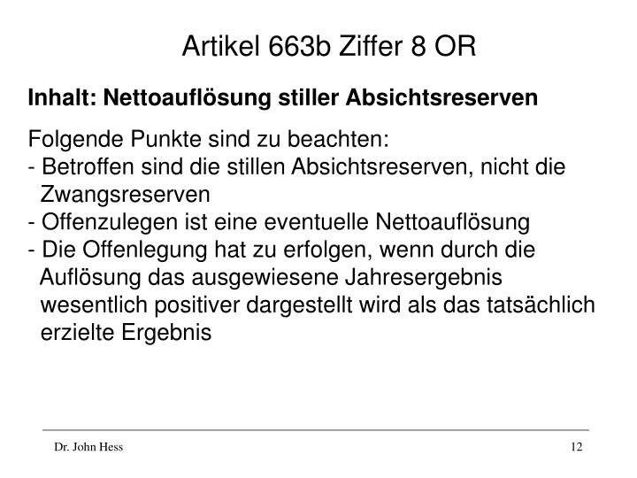 Artikel 663b Ziffer 8 OR