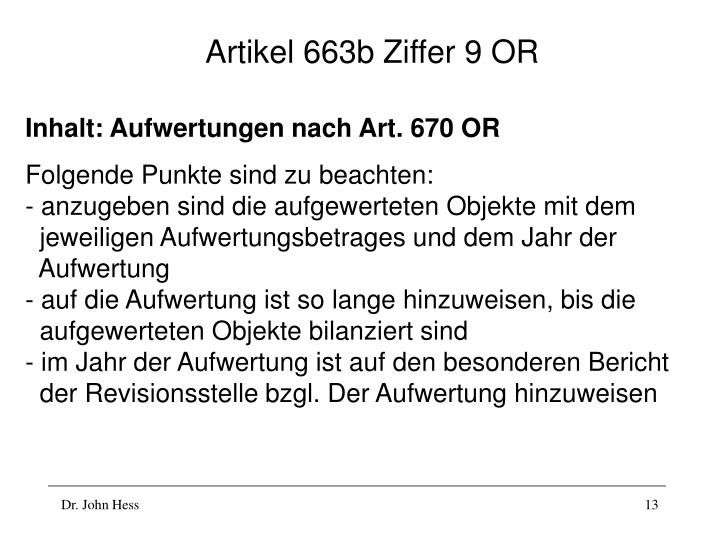 Artikel 663b Ziffer 9 OR