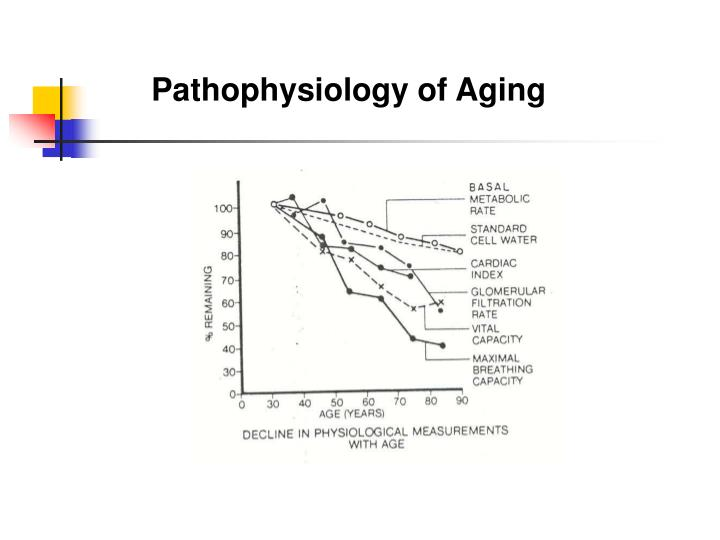 Pathophysiology of Aging