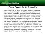 case example 2 mollie