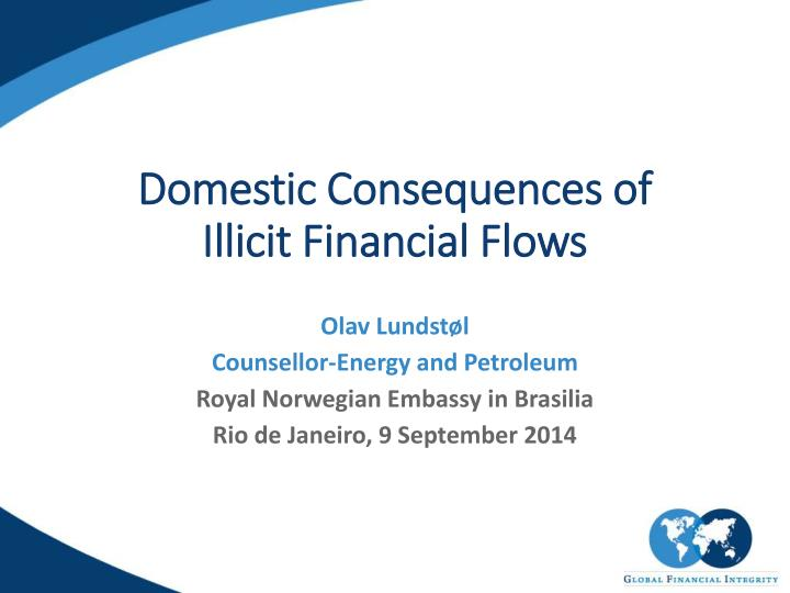 domestic consequences of illicit financial flows n.