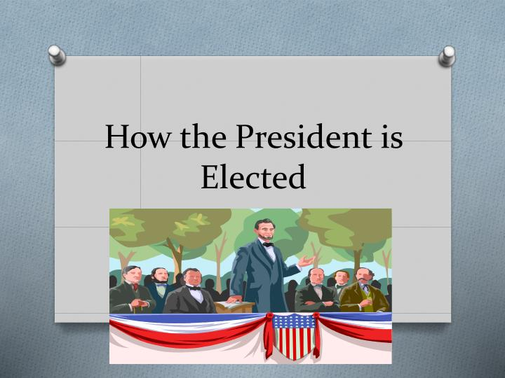 how the president is elected n.