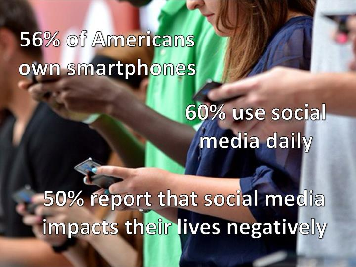 56% of Americans own smartphones