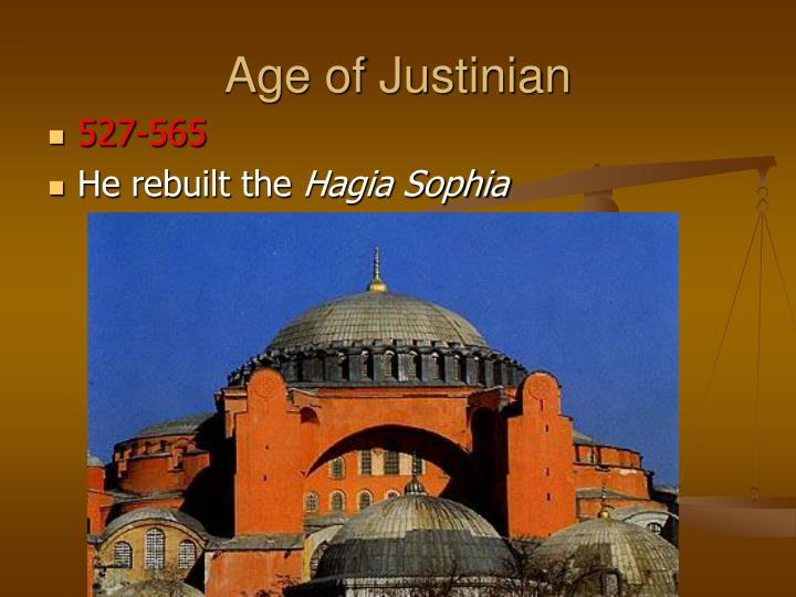 Age of Justinian