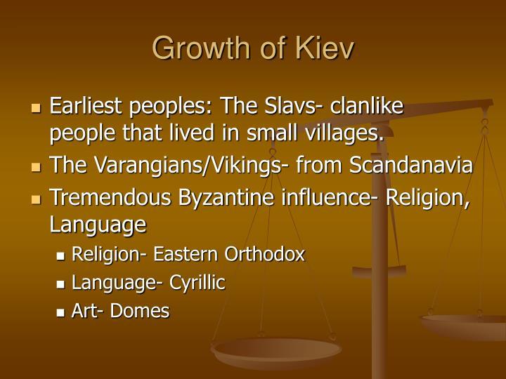 Growth of Kiev